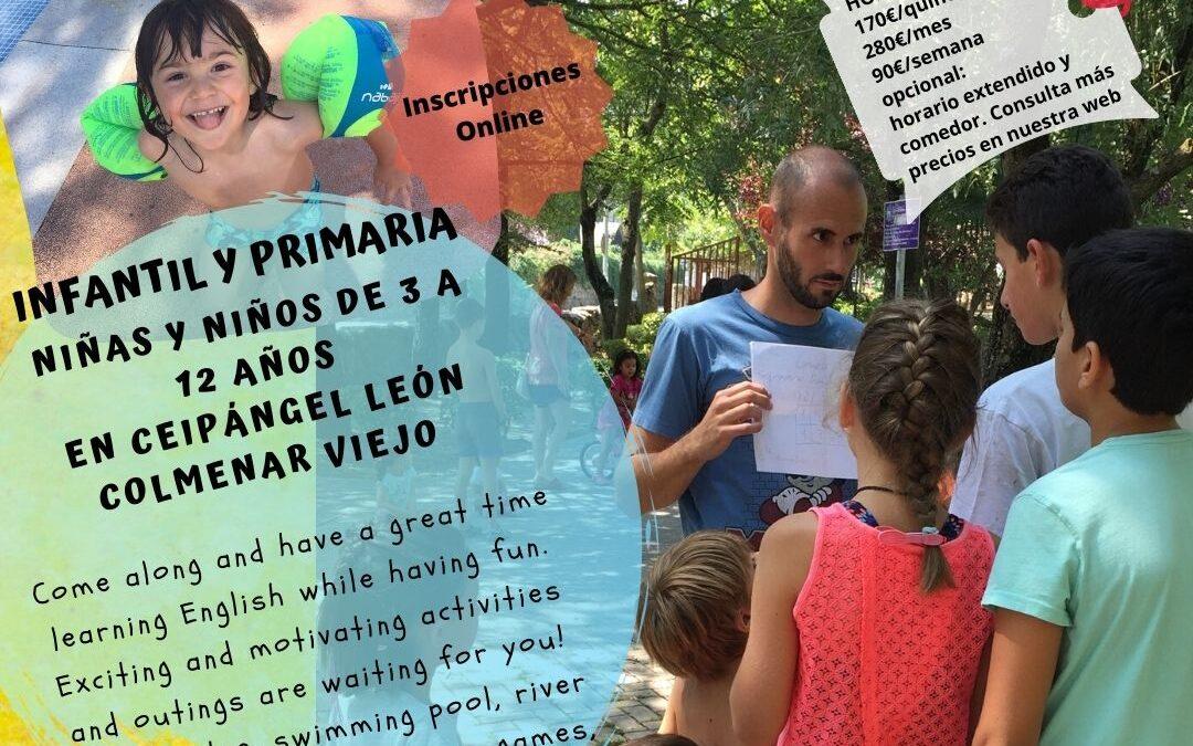 SHAMBALA URBAN SUMMER CAMP @CEIP ÁNGEL LEÓN, COLMENAR VIEJO